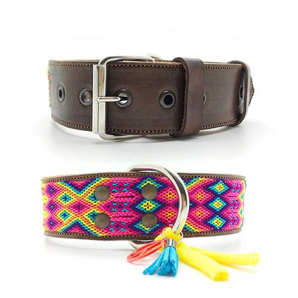 brede halsband hond