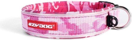 roze camouflage hondenhalsband