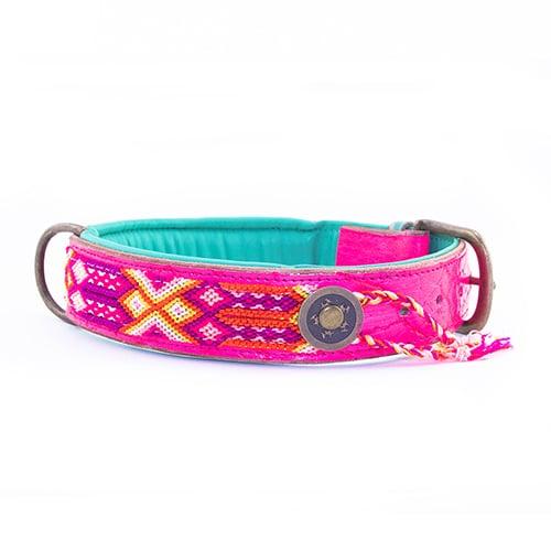 hippie hondenhalsband